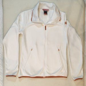 Helly Hansen Women's White Jacket STRETCH Zip SzXS
